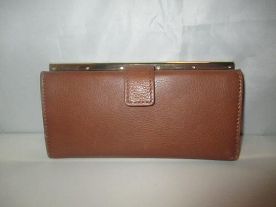 Vince Camuto Leather Axl Wallet Brandy Image 1