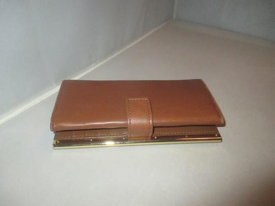 Vince Camuto Leather Axl Wallet Brandy Image 6