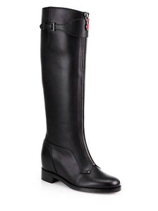 Christian Louboutin Cavaliere Two Tone Black Boots