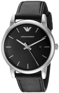 Emporio Armani Emporio Armani Classic Leather Mens Watch AR1692