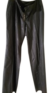 Thierry Mugler Wide Leg Pants Charcoal