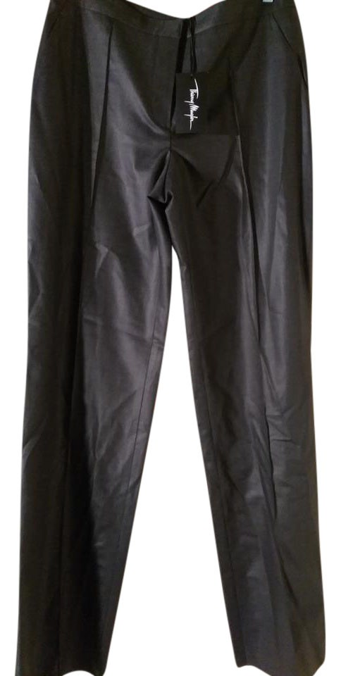 d398dd972 Metallic Charcoal Pants