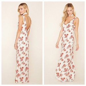 white Maxi Dress by Forever 21