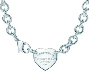 Tiffany & Co. T&Co Heart tag chocker