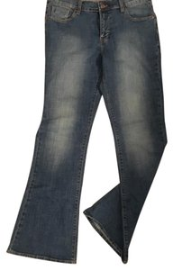 Old Navy Flare Leg Jeans-Medium Wash
