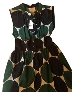 Kate Spade short dress Green/Black on Tradesy