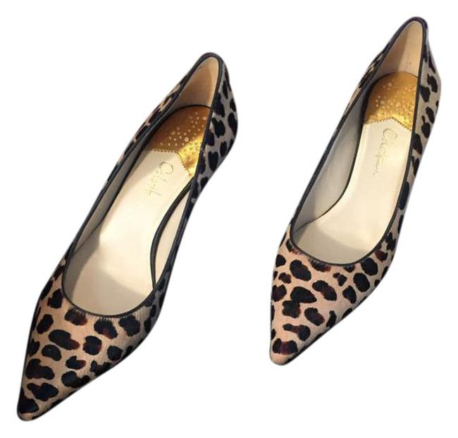 Item - Leopard Print Fur Pumps Size US 7.5 Regular (M, B)