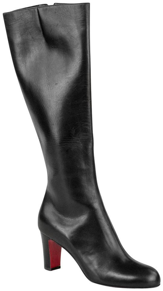 Christian Botta Louboutin Black Miss Tack Botta Christian 70 Calf Boots/Booties f5ae40