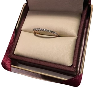 14k rose gold petite wedding band wedding band