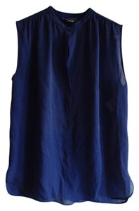 Vince Top Blue and black