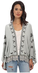 Free People Blue Grey Jacket