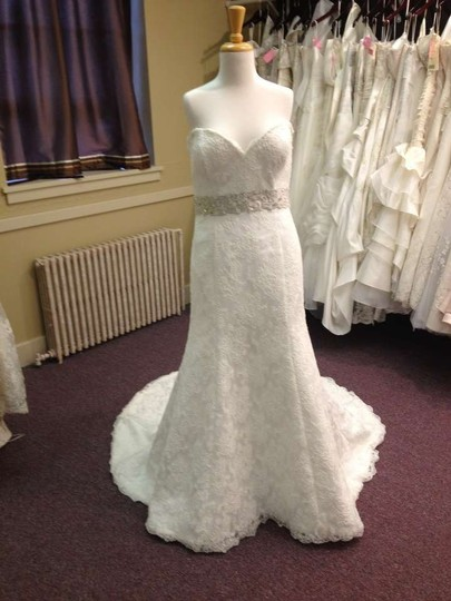 Winnie Couture Ivory Lace Ambrea Wedding Dress Size 18 (XL, Plus 0x)