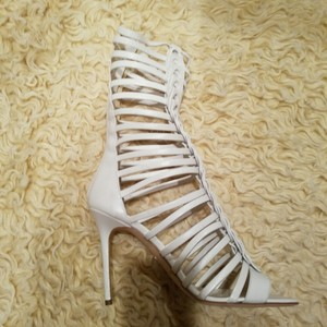 Brian Atwood White Sandals