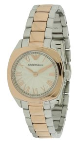 Emporio Armani Emporio Armani Two-Tone Chronograph Ladies Watch AR1952