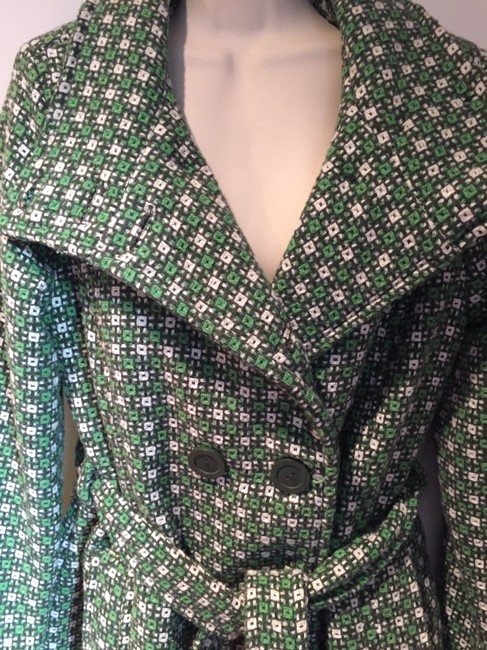Louie Lucie green, white & black Jacket Image 2