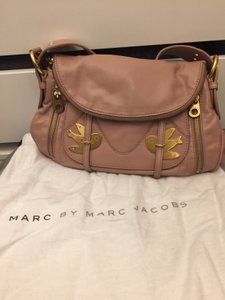 Marc by Marc Jacobs Leather Crossbody Metal Birds Shoulder Bag