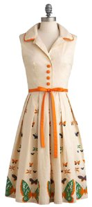 Other Bettie Paige Vintage Inspired Pinup Girl Clothing Butterfly Fit-and-flare Dress
