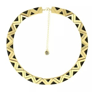 House of Harlow 1960 House of Harlow 1960 AURA COLLAR NECKLACE RESIN IN BLACK RET $138, NWT