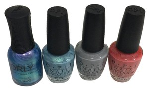 OPI and Orly Nail polish