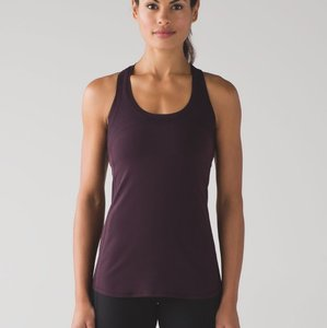 Lululemon NEW!!! Cool Racerback II* Deep Breath