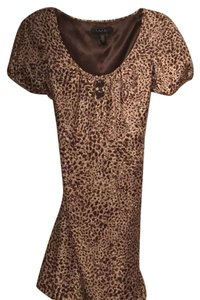 Laundry by Shelli Segal short dress leopard on Tradesy