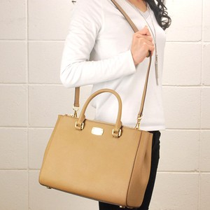 MICHAEL Michael Kors Satchel in Acorn