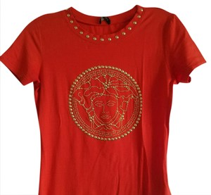 Versace Collection T Shirt Orange