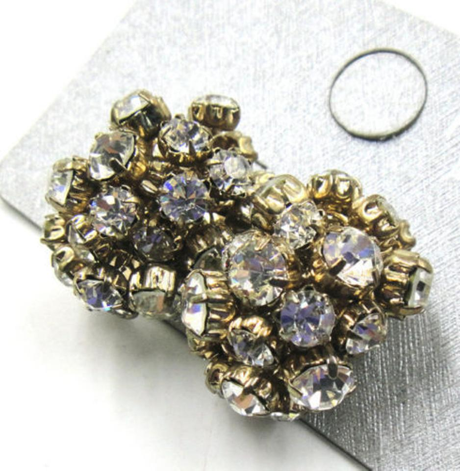 p sapphire hematite cluster diamante earrings stud chunky blue htm stone