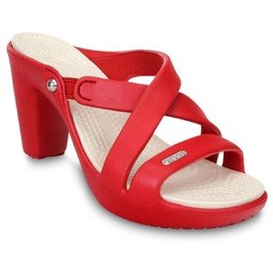 Crocs Red Wedges