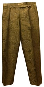 Michael Kors Camel Gold White Cream Trouser Pants camel/loden/gold