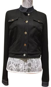 Dolce&Gabbana black & blue denim Womens Jean Jacket
