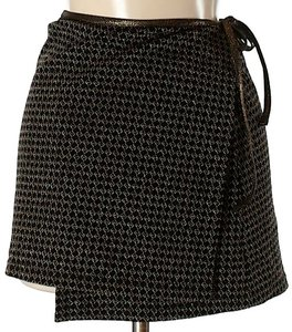 Fendi Tweed Metallic Signature Mini Skirt