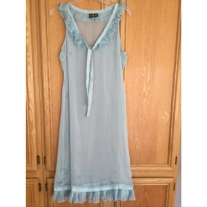 Fendi 100% silk nightgown