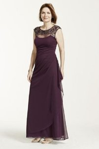 Xscape Plum Plum Xs5531 Dress Item #10213420 Dress