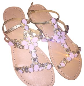 Mystique Boutique gold/ opal pink Sandals