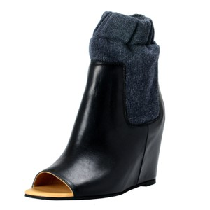 MM6 Maison Martin Margiela Black / Gray Boots