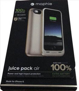 mophie mophie gold extra battery iPhone 6 phone case
