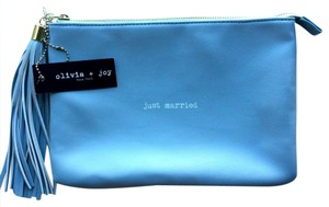 Olivia + Joy Just Married Something Blue + + + Married Clutch