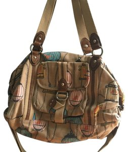 Fossil Satchel in Beige