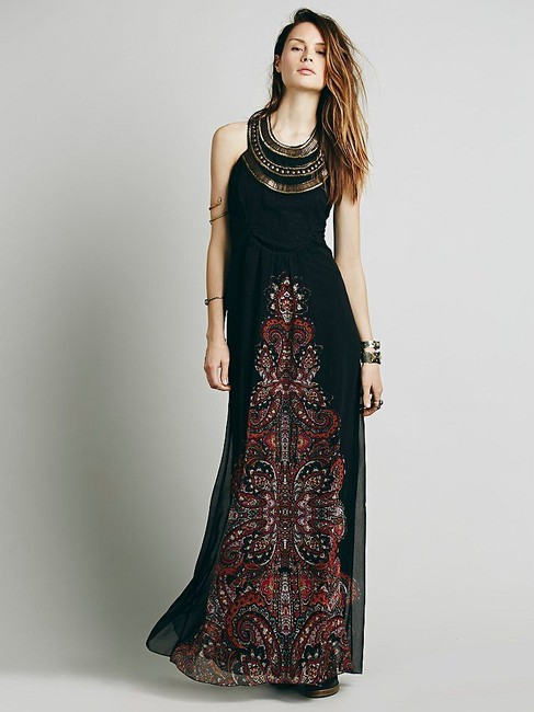 Free People Demeter Gown Long Casual Maxi Dress Size 6 (S) - Tradesy