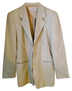 Armani Collezioni Lime Green Textured Jacket