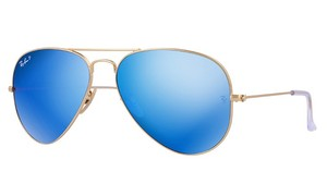 Ray-Ban Ray-Ban Polarized Blue Mirror Unisex Sunglasses- RB3025 112/4L