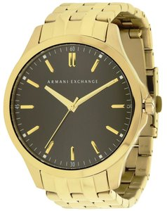 A|X Armani Exchange Armani Exchange Gold-Tone Mens Watch AX2145