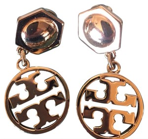 Tory Burch dangle logo earring
