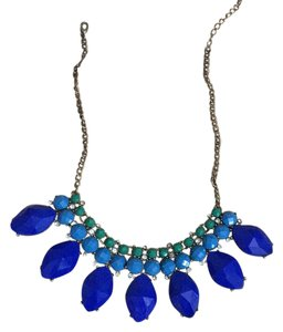J.Crew Chunky Blue Necklace