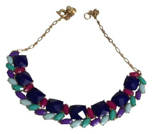 J.Crew Colorful Jewel Necklace