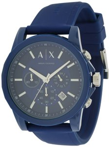 A|X Armani Exchange Armani Exchange Active Chronograph Rubber Mens Watch AX1327