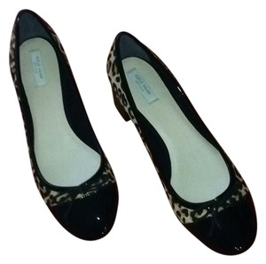 Cole Haan Black with leopard spot calf hair Pumps