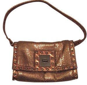 Whiting & Davis copper Clutch