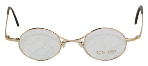 Tom Ford TF5172-028 Tom Ford New-With-Tags-Case Gold Retro Round Eyeglasses